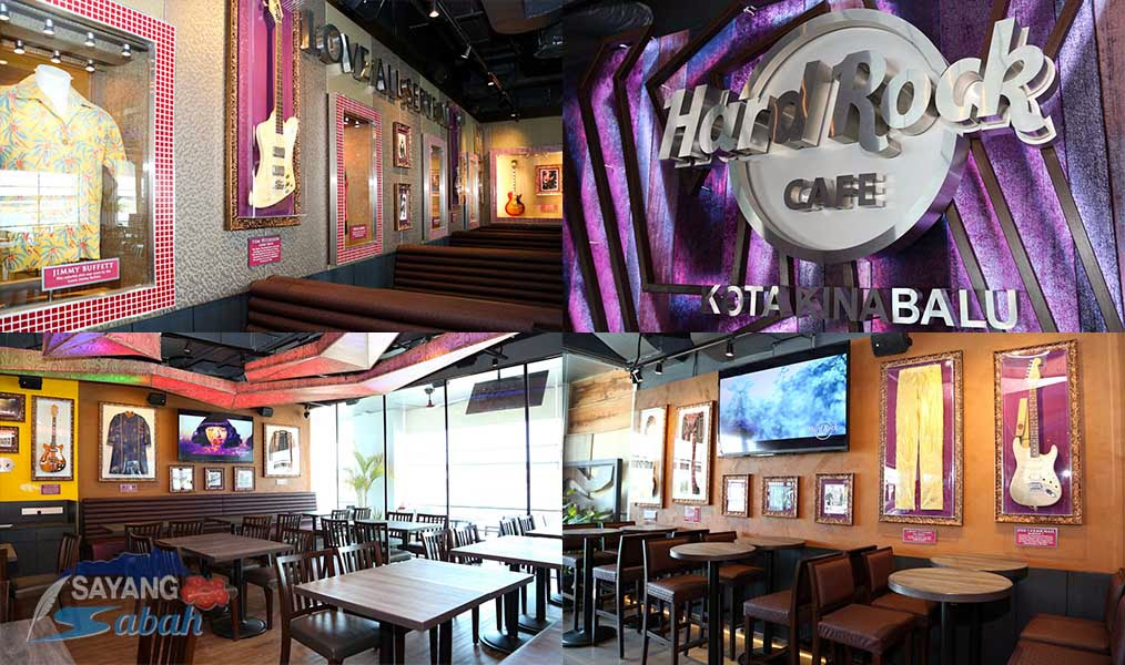 Hard Rock Cafe Kota Kinabalu interior design