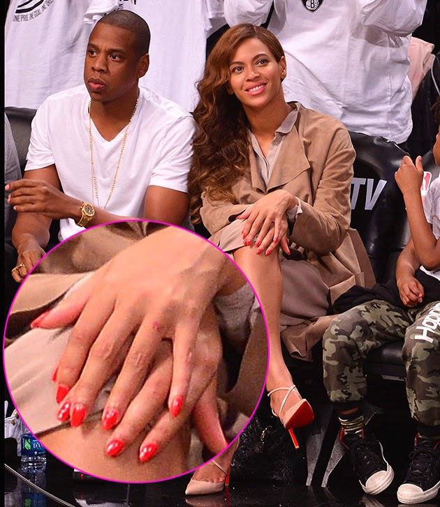 Beyonce Wedding Ring 37 Fresh Beyonce without her tattoo
