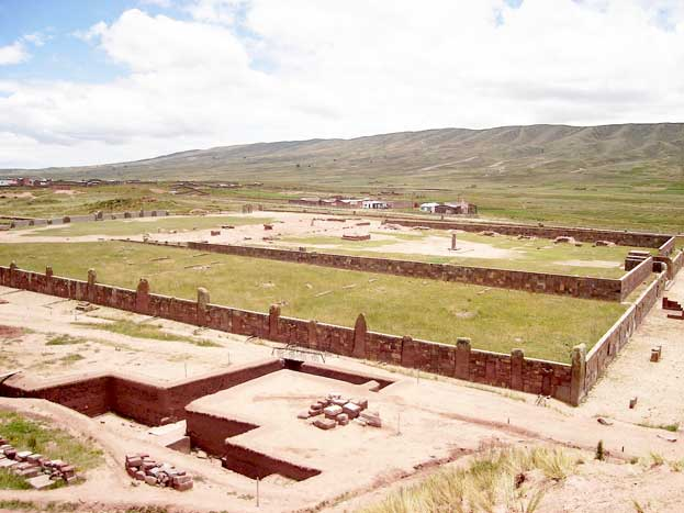 Spiritual and Political Centre of the Tiwanaku Culture Bolivia