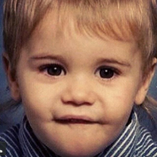 Justin Bieber de pequeño
