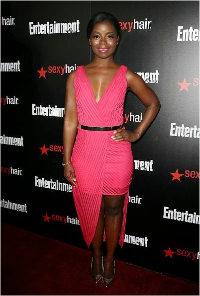 Erica Tazel Wears Isharya to SAG Awards E! Celebration