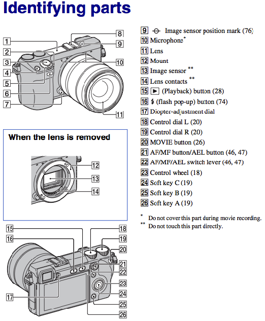 sony nex-7 manual pdf download owner user