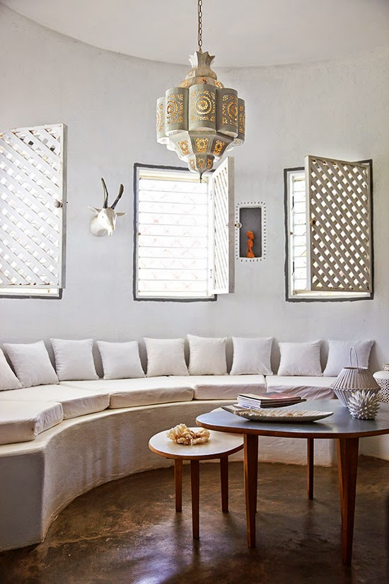 Safari Fusion blog | Light the way [part 2] | Moroccan lantern in white-washed surrounds