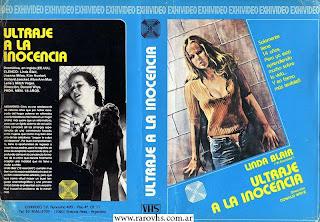 Ultraje a la inocencia = Born Innocent (1974) con Linda Blair (Carátula gigante completa)