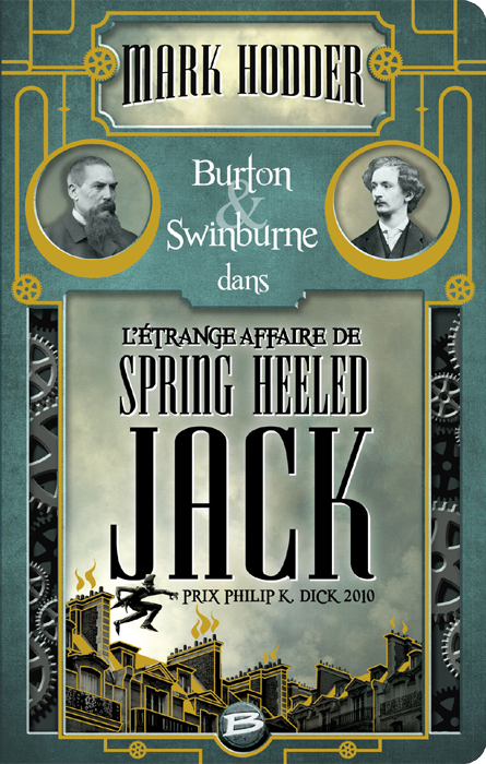 L'Étrange affaire de Spring Heeled Jack - Mark Hodder