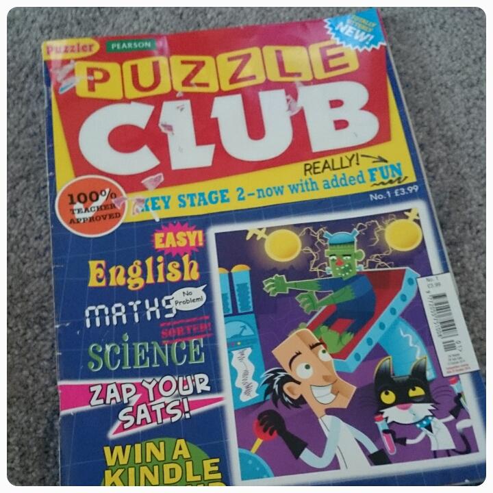 puzzle club magazine
