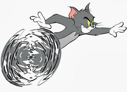 Tom e Jerry desenho colorido