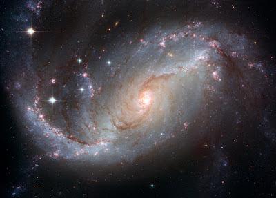 Gambar Bagus Galaxy NGC 1672