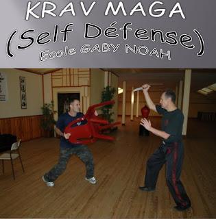 Stage de Krav Maga avec Gabi Noah en Février 2013