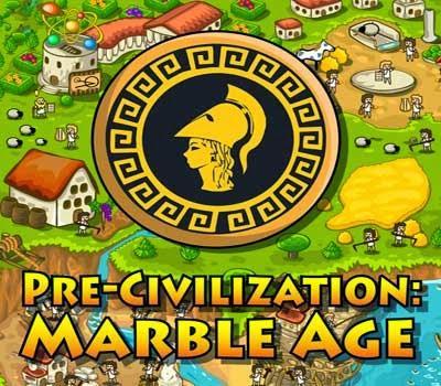 غلاف لعبة ما قبل الحضارة عصر الرخام pre civilization marble age