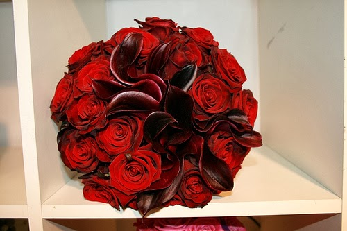 Bouquets y Ramos de Bodas Color Rojo, parte 4