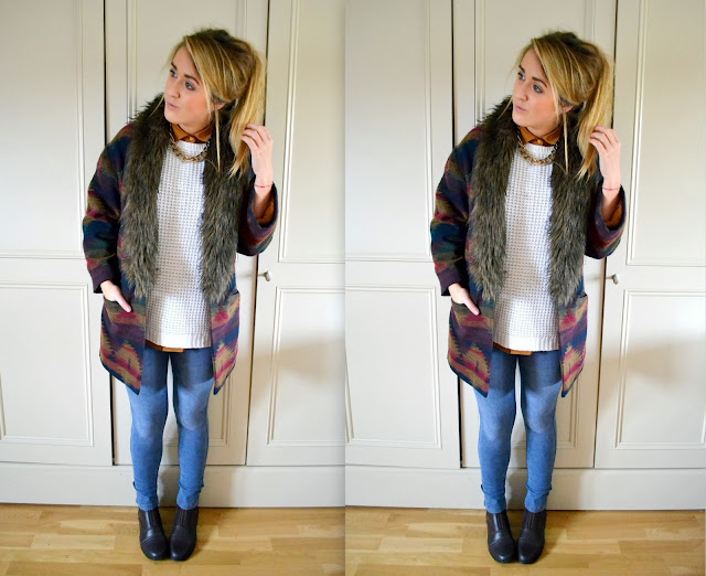 fashion blogger, aztec pattern, fashion blog, irish fashion blogger, urban outfitters