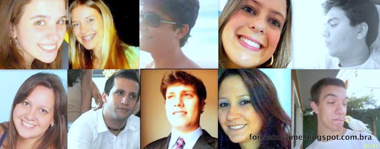 Membros da Comissão de Formatura IME USP - 2012