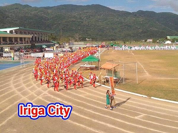 Palarong Bicol 2014 Iriga City Delegation