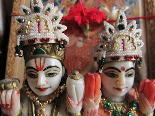 marble idol of Lakshmi Narayan