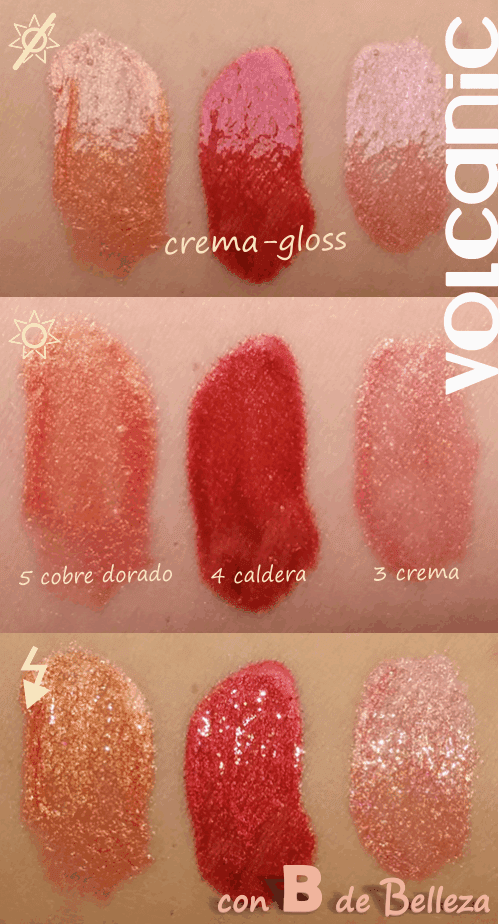 Swatches gloss volcanic
