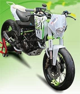 Modifikasi Honda GL Pro title=