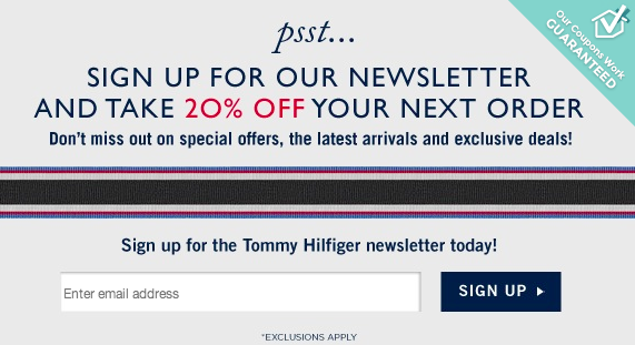 Tommy and hilfiger coupons