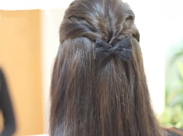 Peinados para primera comunion paso por paso elainacortez for Imagenes semirecogidos