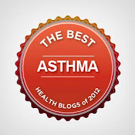 "Named one of ""10 Best Asthma Blogs of 2012"""