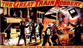 Cartel de la película Asalto y robo de un tren
