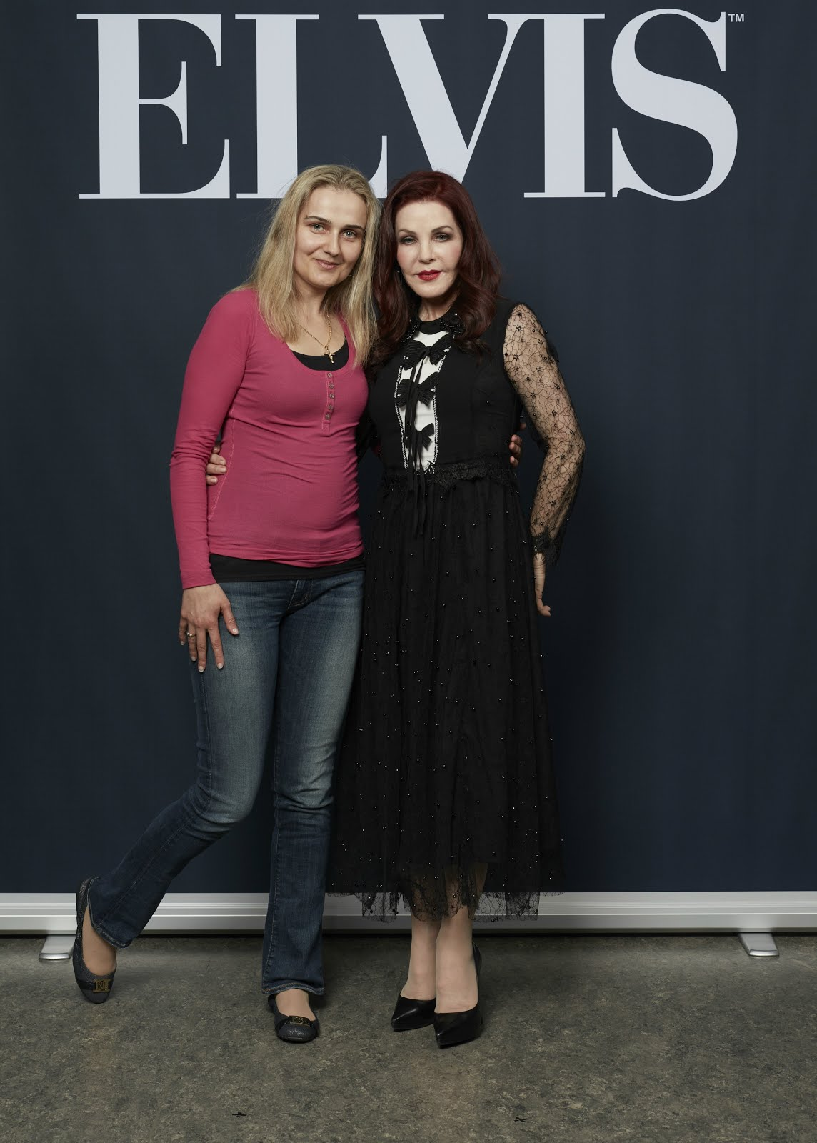 With PRISCILLA PRESLEY