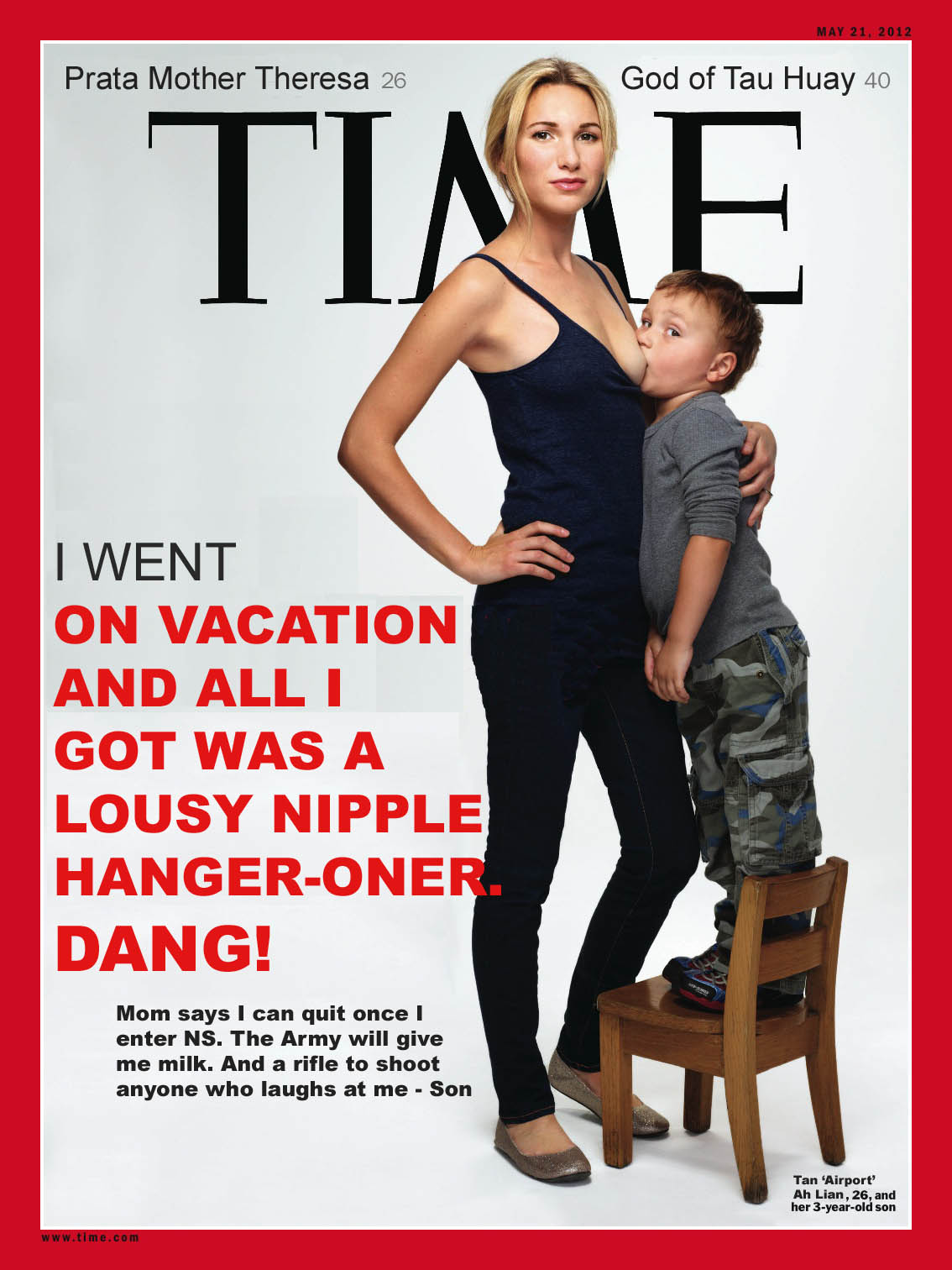 A Singaporean Talk Box: Time Magazine - Breastfeeding 5-