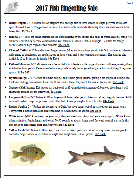 small screenshot 1 office fish. cover things regarding fish management and stocking recommendations thanks tell your friends for more details call the office at 7404895276 small screenshot 1 i