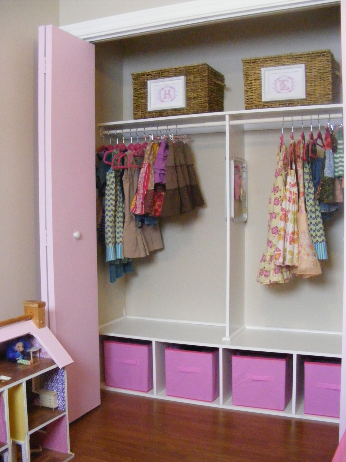 An Organized And Girly Closet For Two The Complete