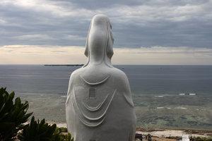 Buddha statue at Đục pagoda - Lý Sơn island
