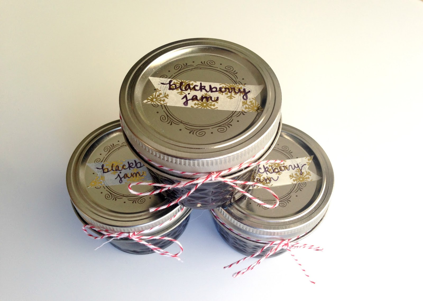 Delicious & Easy Christmas Gift: Homemade Blackberry Jam - Carolina ...