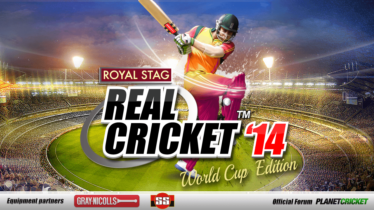 Real Cricket 14 2.1.5 MOD APK (Everything Unlocked)
