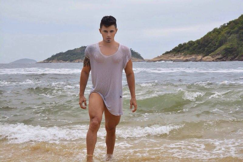 Marcos Tonny já foi eleito Mister Beleza Universo em 2014. Foto:Cleiton Enrique