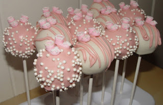 Popcakes para Baby Shower