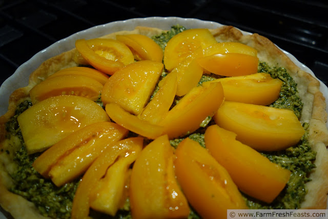http://www.farmfreshfeasts.com/2013/07/green-and-gold-basil-tomato-tart.html