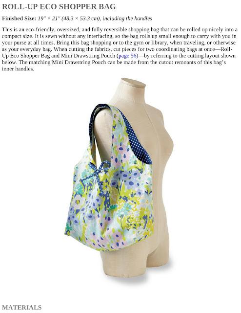Roll-Up Eco Shopper Bag