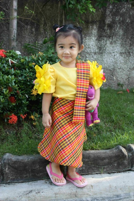Filipiniana Costumes For Kids Filipiniana Dress For Kids