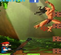 لعبة ماريو ضد طرزان