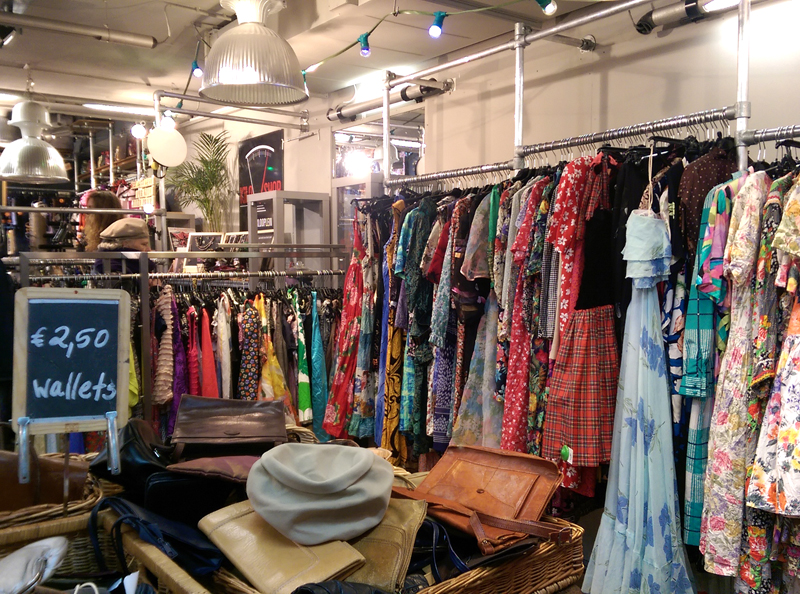 Amsterdam Waterlooplein Vintage Clothing Kilo Shop