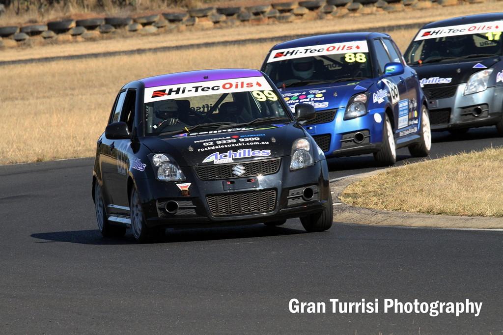 Australian Swift Racing Series, niedrogie auta do wyścigów, Suzuki