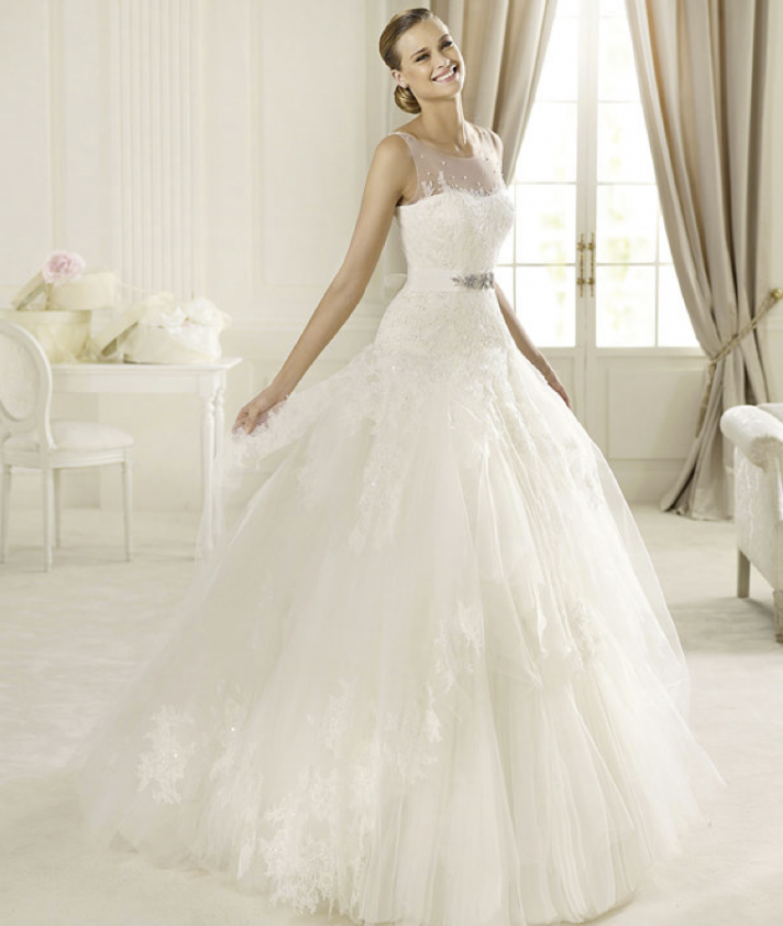 Wedding Dresses Pronovias Romantic 2013 Wedding Dresses