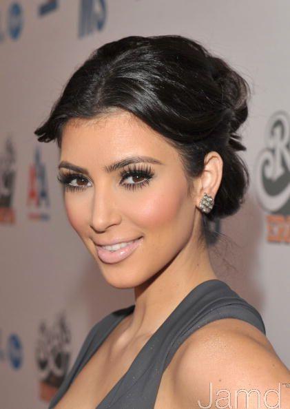 kim kardashian makeup pictures. kim kardashian makeup artist.