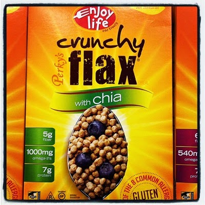 Vegan Vegetarian Food Target Enjoy Life Perky's Crunchy Flax Cereal with Chia