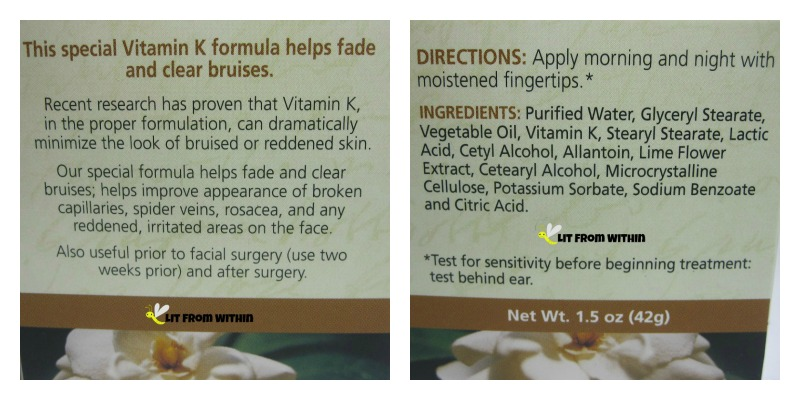 Vitamin K shrinks capillaries