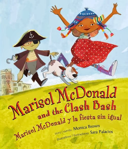 Marisol McDonald is back in a new picture book by award-winning team Monica Brown &Sara Palacios!
