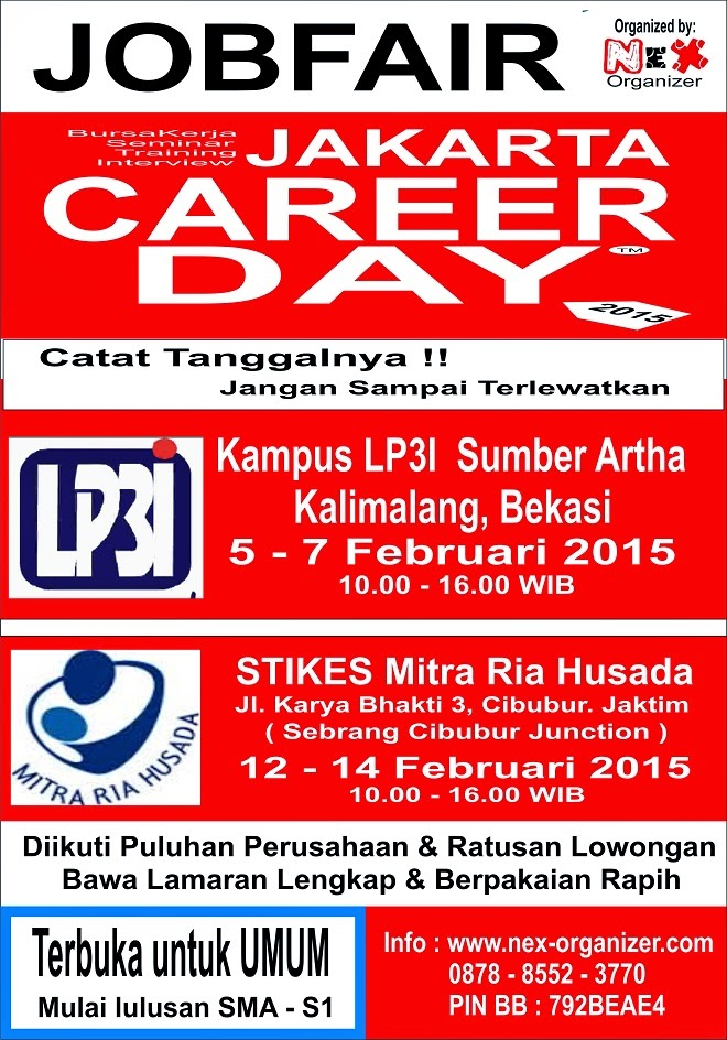 Job Fair Jakarta Career Day Februari 2015