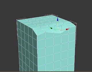 Vértices sin alinear en una caja de 3ds max