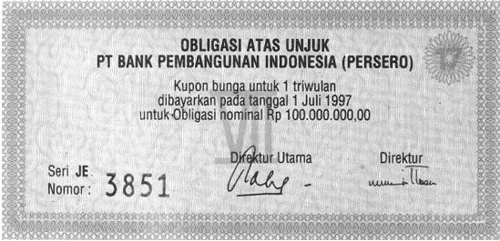 jaminannya obligasi dapat dibedakan menjadi dua yaitu obligasi dengan