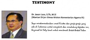 TESTIMONY - DR. JASON LASE, S.Th, M.Si