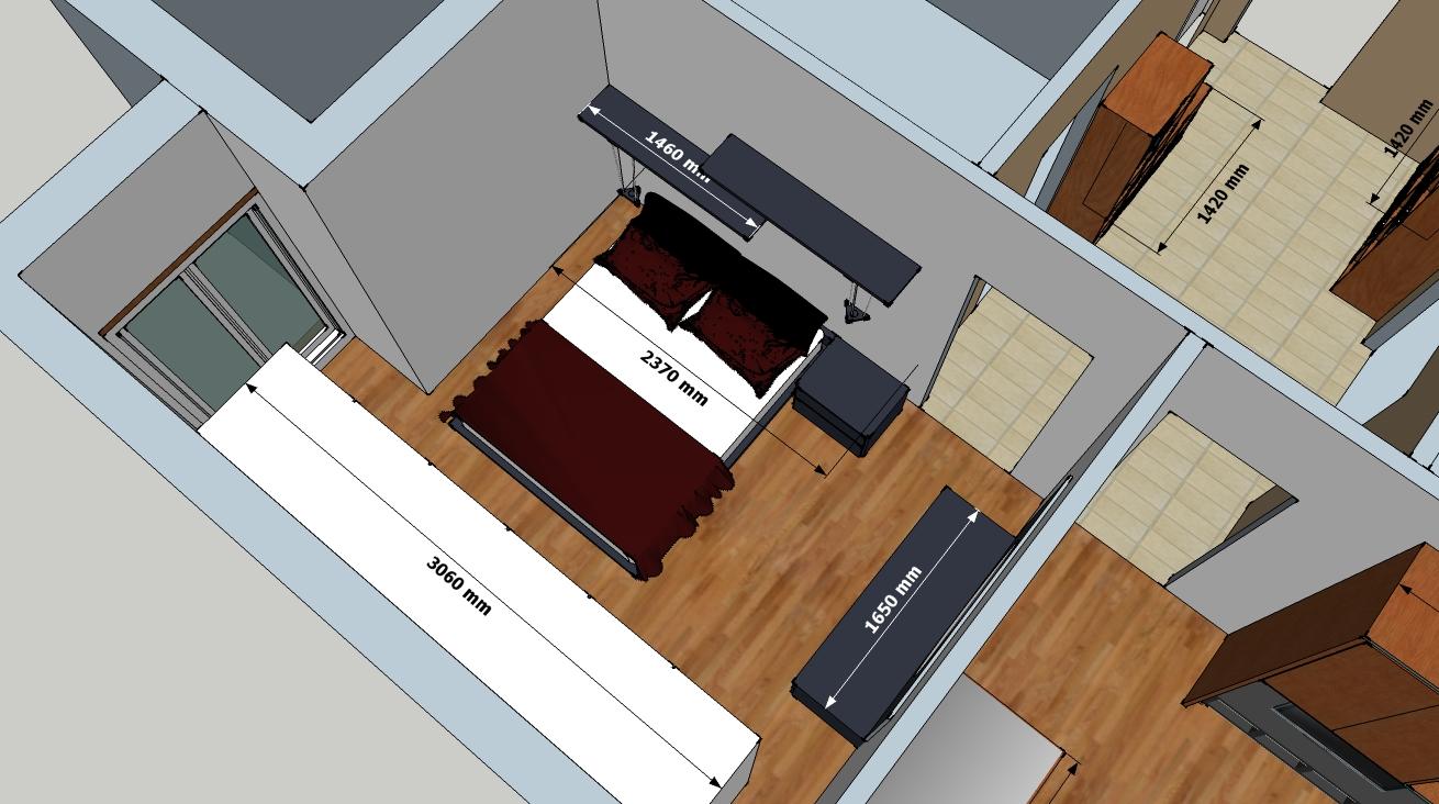 Mensole sopra il letto idee originali per la testiera del for Camera da letto sopra il garage
